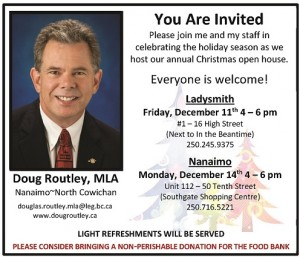 Community Offices Open House @ Nanaimo Community Office | Nanaimo | British Columbia | Canada